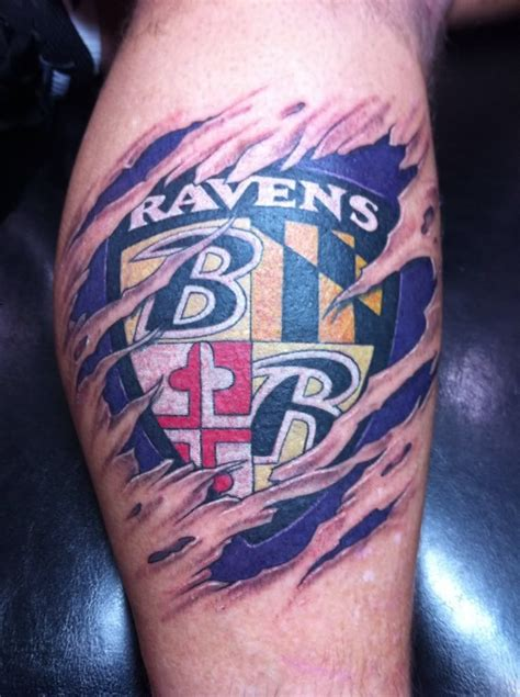 baltimore ravens tattoos baltimore ravens ideas