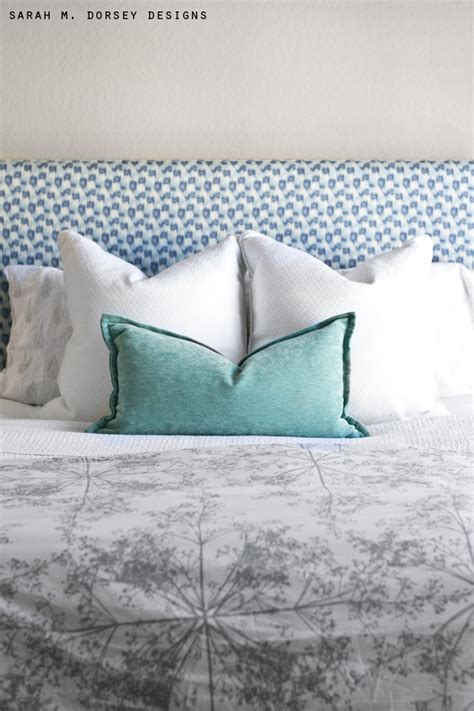 easy fabric headboard sarah m dorsey designs super simple upholstered