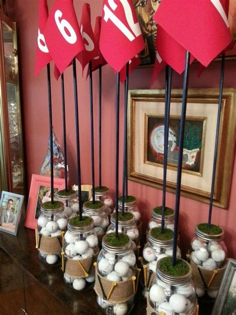 golf centerpiece ideas 25 best ideas about golf table decorations on