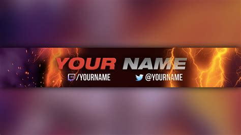 25 youtube banner templates free sample example format