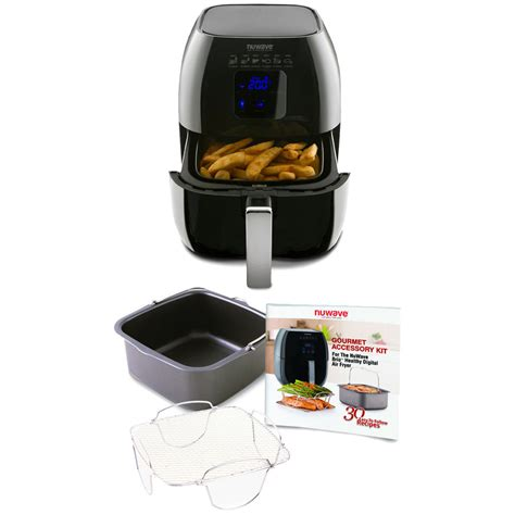 air fryer modern cuisine at home a new look at healthy effortless cooking kitchen appliances easy recipes kitchen helpers volume 1 books nuwave brio healthy digital air fryer and brio air fryer