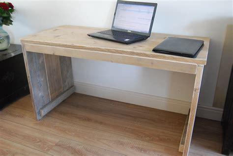 zelf een buro maken bureaus gebruikt en nieuw steigerhout lankreijer steigerhout