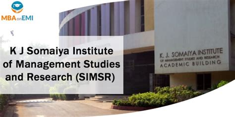 Somaiya Entrance Test For Part Time Mba by Mba On Emi