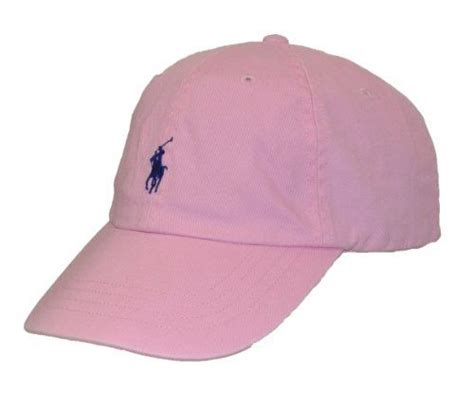 light pink polo baseball cap polo ralph lauren baseball hat pink all dressed up