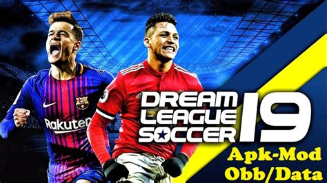 free download game mod offline apk dream league soccer 2019 mod apk data download