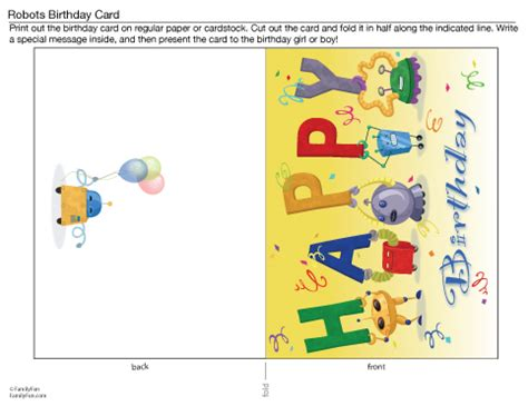 a printable birthday card birthday