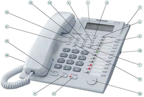 Pesawaat Telephon Panasonic Kx T7730 Berkualitas 8 kx t7730 refurbished panasonic 12 key 1 line lcd speakerphone white