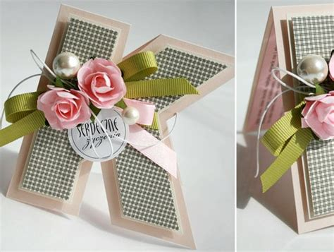 Shaped Handmade Cards - letter card such a simple but effective way to