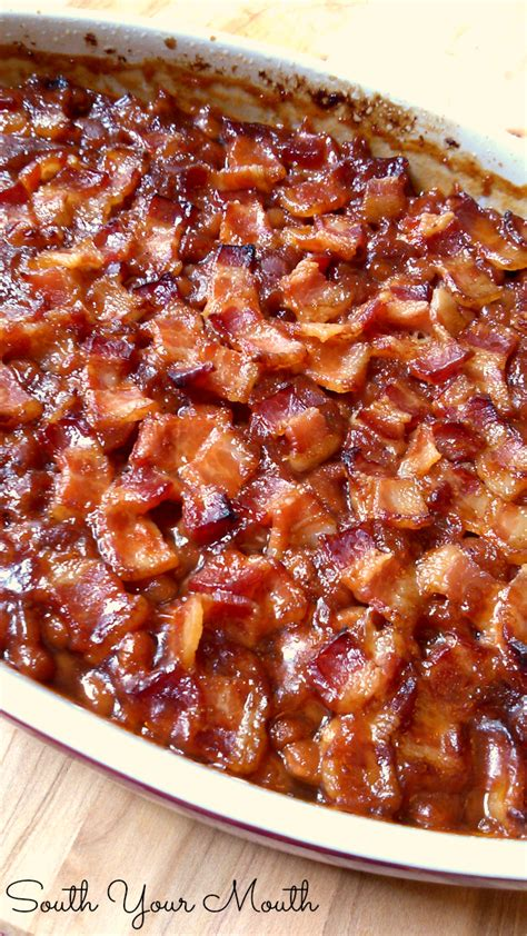south your mouth southern style baked beans