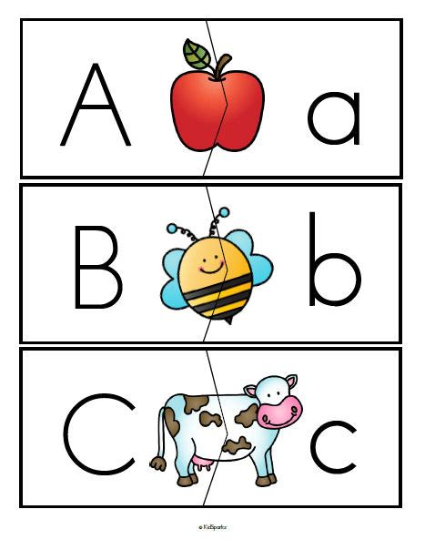 printable alphabet puzzles alphabet activities and printables for preschool and