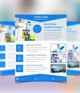 E Flyers Templates by 16 Cleaning Service Flyers Free Psd Ai Eps Format