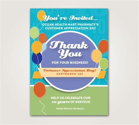 customer appreciation day flyer template customer appreciation flyers quotes