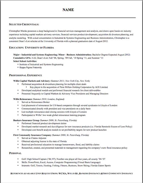 Resume Format For Free by Free Proper Resume Format 2016 Recentresumes