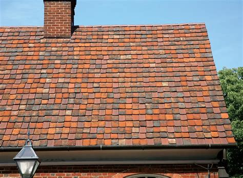 ancient clay roof tiled buildings the best roofing materials for houses house