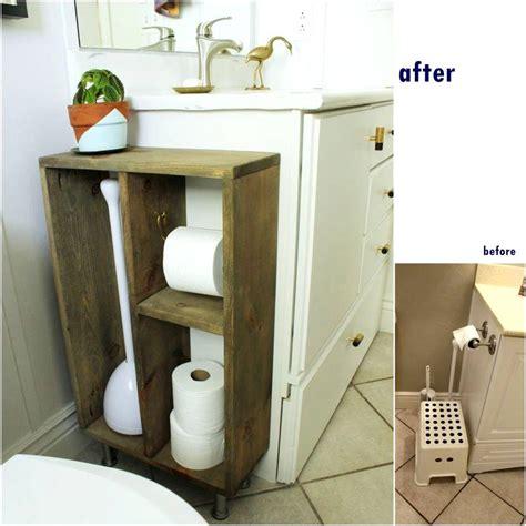 bathroom toilet paper storage diy bathroom makeovers tutorials for economical