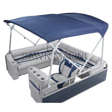 pontoon tops aluminum boat bimini tops bing images