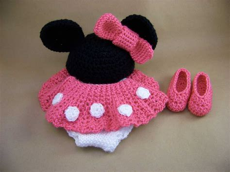 Set Minnie Crochet Minnie Set Is Complete The Cotton Gin