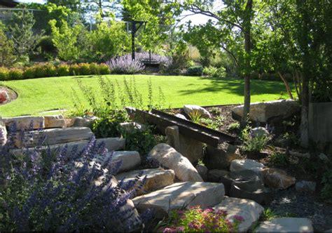 balance landscape design home