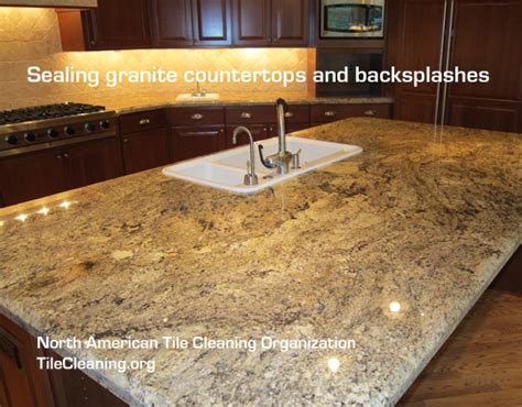 Seal Countertop by 1000 Ideas About Sealing Granite Countertops On