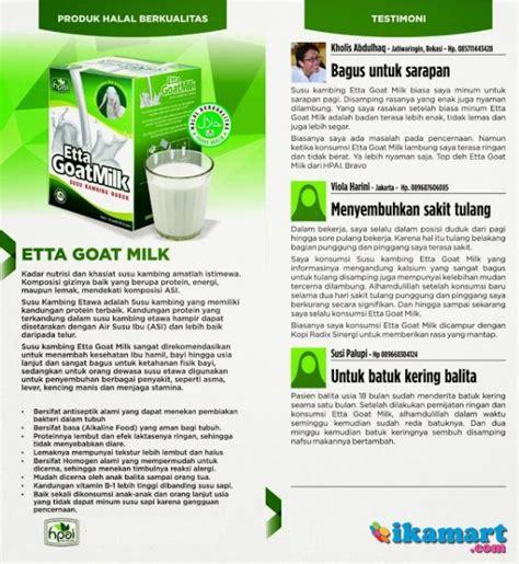 Diabextrac Teman Diabetes Hpai Medan etta goat milk bubuk tepung serbuk powder kambing etawa sheep minuman
