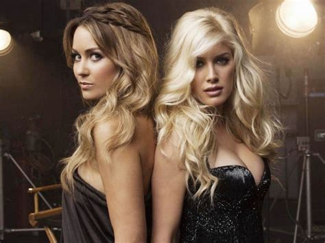 Heidi Montag And Conrad Want To Be by Hair On The Brain 187 I You
