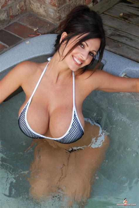 bathtub hot denise milani hot tub 3 sexy women