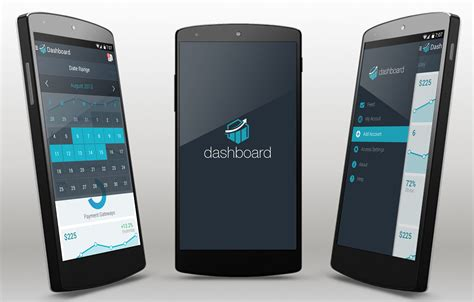 free android apps dashboard android app template
