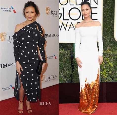 Catwalk To Carpet Thandie Newton Carpet Style Awards by Thandie Newton In Monse Bafta Tea Golden Globe