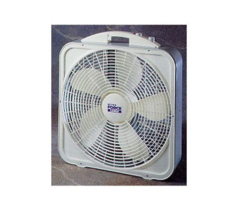 Lasko 3700 20 Quot Ultra Force Box Fan W Thermostat Qvc Com