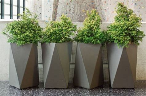 extra large modern planters by greenform pot and planter