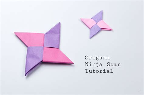 Origami 8 Point - origami fidget spinner handmade diy tutorial