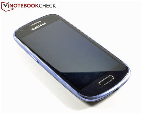 review samsung  mini gt  smartphone notebookcheck