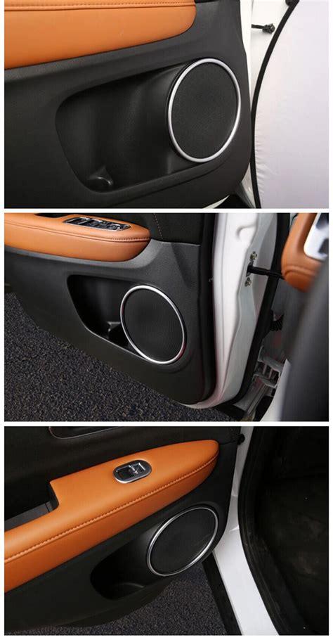 fit for 15 honda vezel hr v chrome door stereo speaker