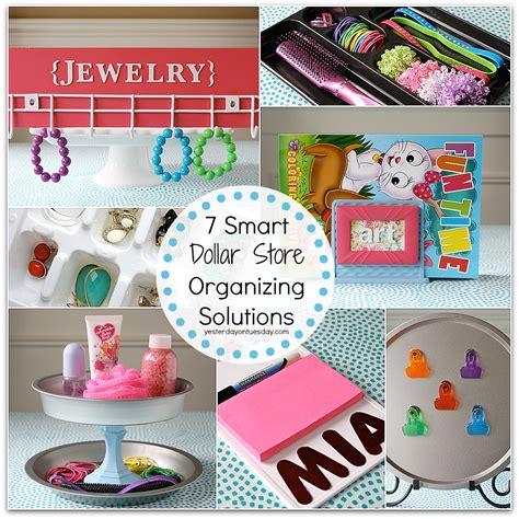 Dollar Store Diy Home Decor by 7 Smart Dollar Store Organizing Solutions Yesterday On