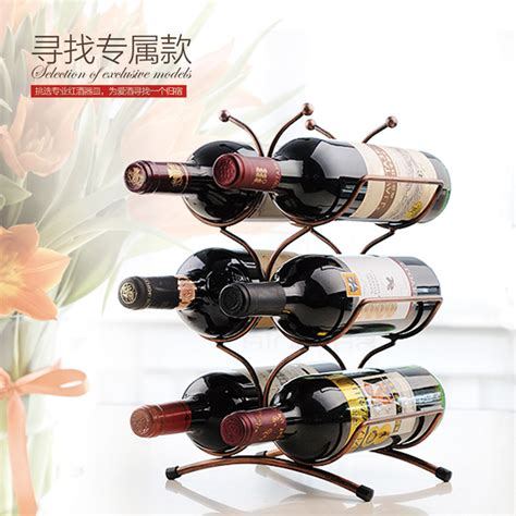 red wine rack fashion iron wine rack red wine pigeon hole 6 bottle wine