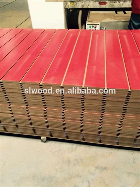 Decorative Mdf Board by Decorative Wall Panel Melamine Slot Mdf Board Grooved Mdf