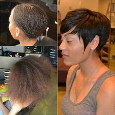 pixie cut glue in extensions 1000 images about short hair makeovers on pinterest