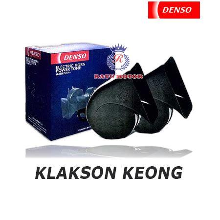 klakson denso keong hitam w o relay klakson ratumotor id