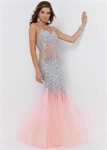 chagne colored prom dresses blush colored mermaid prom dress naf dresses