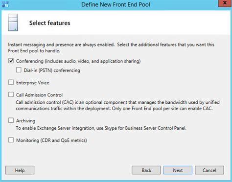 Define Collocate Deploying Skype For Business Server Part 3 Preparing