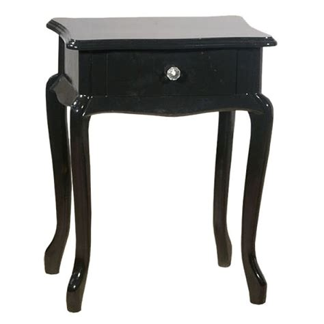 black mirrored glass high gloss bedside table cabinet 3 lacquered black high gloss bedside cabinet free delivery