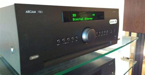 arcam sr stereo av receiver preview audioholics