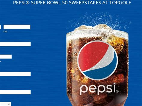 Pepsi Ticket Giveaway - pepsi super bowl 50 sweepstakes select states sweepstakes fanatics
