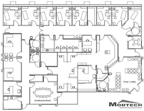 Medical Center Floor Plan | an exle of a medical centre floor plan office