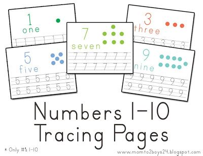 for writing numbers in papers lawteedah number s 1 10 tracing papers