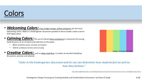 welcoming colors kindergarten design focusing on creating healthy and