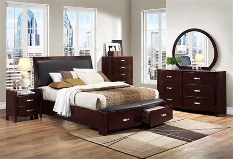 homelegance lyric platform bedroom set dark espresso bnc bed set  homelementcom