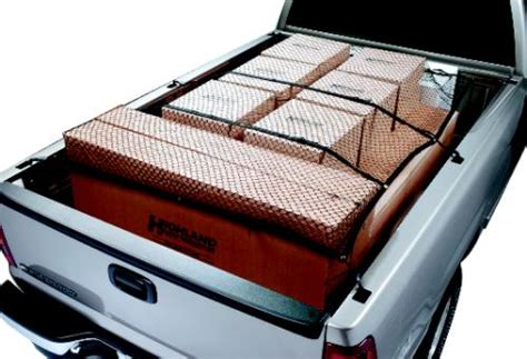 cargo net for truck bed adjustable heavy duty truck cargo net highland cargo tie