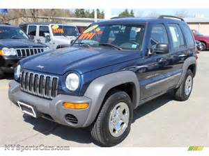 2002 jeep liberty sport 4x4 in patriot blue pearlcoat