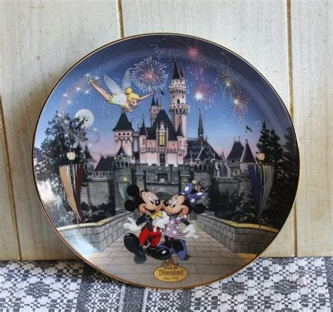 Disneyland Sleeping Castle Tinker Bell Ceramic Collectible Plate - 1000 images about muzetta s waltz on pewter